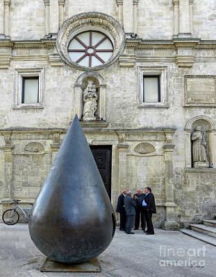 Palazzo Lanfranchi Modern Art Musuem Of Basilicata  Art Print by Jennie Breeze
