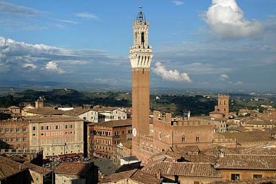 Palazzo Pubblico And Campo Siena Original