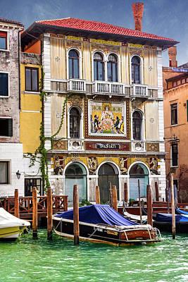 Photograph - Palazzo Salviati Grand Canal Venice  by Carol Japp