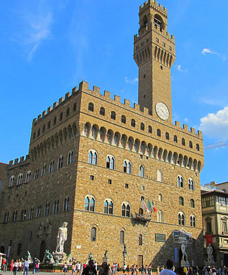 Painting - Palazzo Vecchio Florence by Lisa Boyd