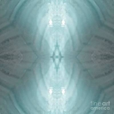 Digital Art - Pale Blue Light Phantom by Rachel Hannah