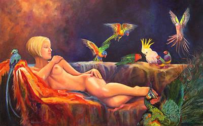 Pale By Comparison Art Print by Valerie Aune