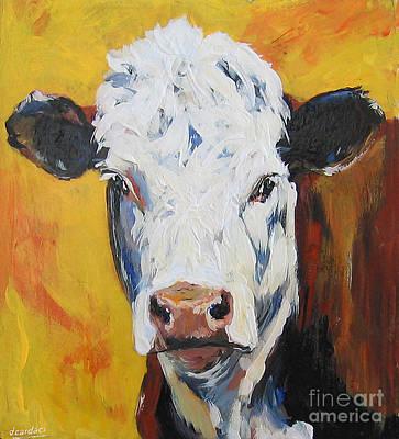 Painting - Pale Face II by Debora Cardaci