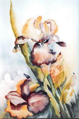 Pale Iris Art Print