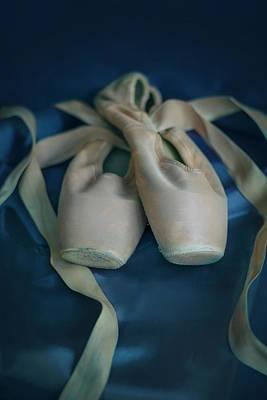 Photograph - Pale Pink Balet Shoes by Jaroslaw Blaminsky
