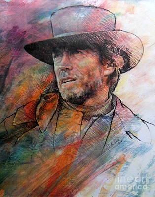Pale Rider Art Print by Rik Ward