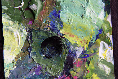 Photograph - Palette Abstraction #20 by John Lautermilch