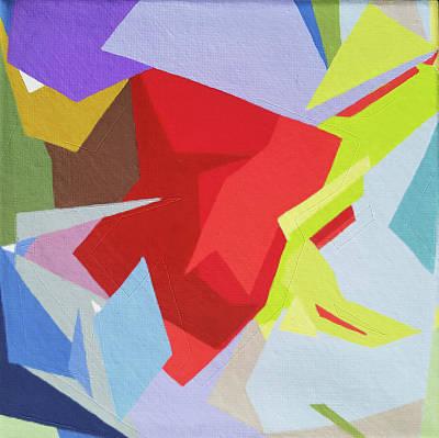 Painting - Palette Bananier 1 by Muriel Dolemieux