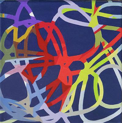 Painting - Palette Bananier 3 by Muriel Dolemieux