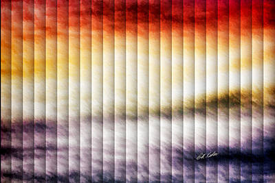 Photograph - Palette In The Sky - The Slat Collection by Bill Kesler