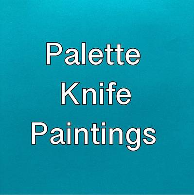 Painting - Palette Knife Logo by Darice Machel McGuire