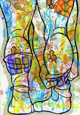 Palette Lad 11 Art Print