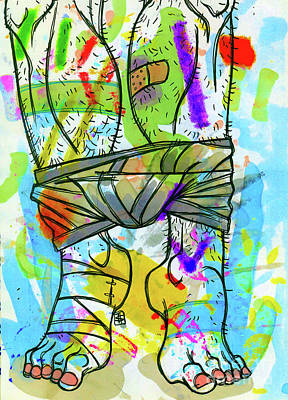 Palette Lad 2 Art Print
