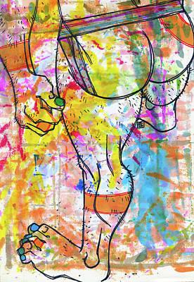 Palette Lad 9 Art Print
