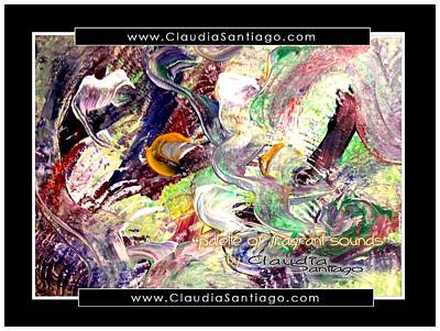 Painting - Palette Of Fragrant Sounds by Claudia Santiago