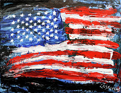 Painting - Palette Of Our Founding Principles by Craig A Stevens