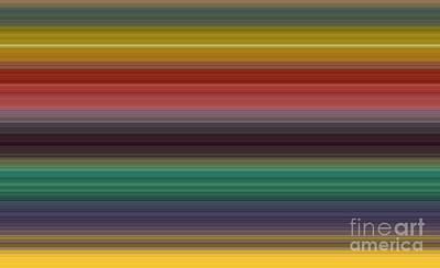Brown Toned Art Digital Art - Palette Vii by Alex Caminker