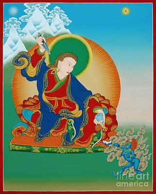 Painting - Palgyi Yeshe by Sergey Noskov