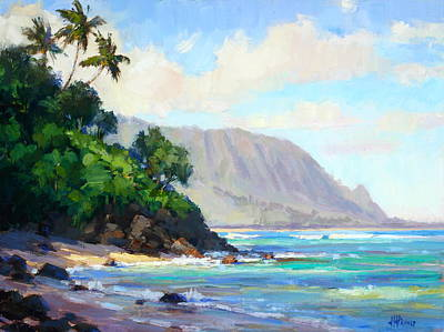 Painting - Pali Ke Kua Morning by Jenifer Prince