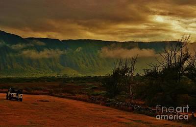 Photograph - Pali Sunset At Kalaupapa by Craig Wood
