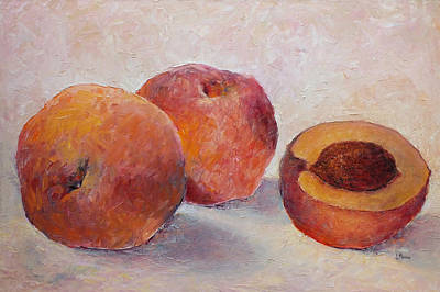 Painting - Palisade Peaches by Jill Musser