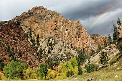 Photograph - Palisades Rainbow by Kathleen Bishop