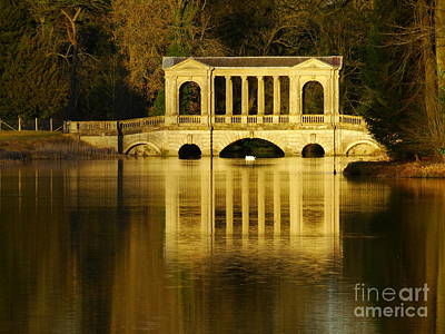 Photograph - Palladian Bridge, Stowe. by Nicola Butt
