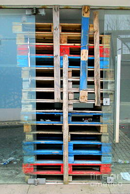 Photograph - Pallets Palette by Randall Weidner