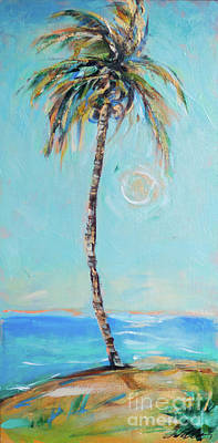 Painting - Palm And Sun by Linda Olsen
