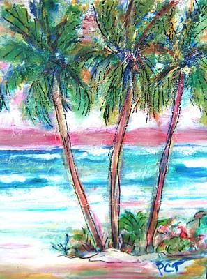 Painting - Palm Beach Holiday by Patricia Taylor