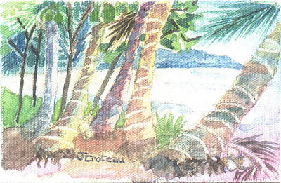 Painting - Palm Beach by Jane Croteau