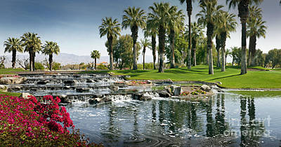 Photograph - Palm Desert Marriott by David Zanzinger