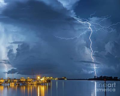 Photograph - Palm Harbor Marina by Stephen Whalen