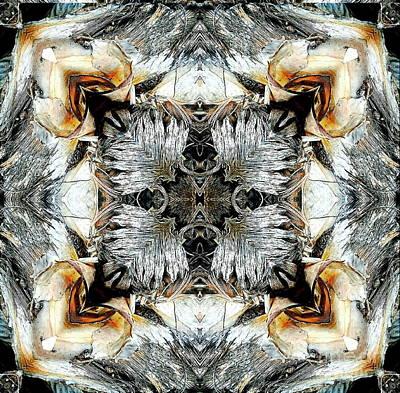 Mixed Media - Palm Leaves by Jesus Nicolas Castanon