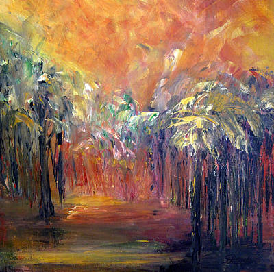Painting - Palm Passage by Roberta Rotunda