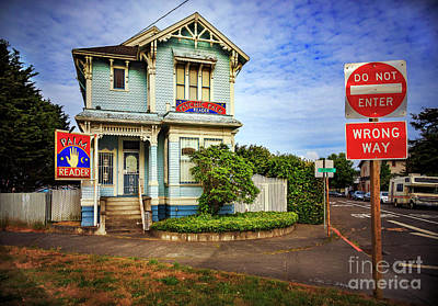 Photograph - Palm Reader House by Craig J Satterlee