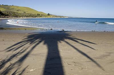 Gaviota Photograph - Palm Shadows On The Beach by Rich Reid