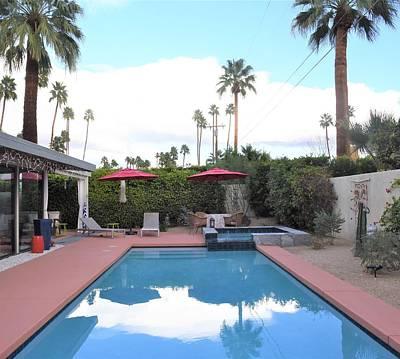 Photograph - Palm Springs Backyard by Lisa Dunn