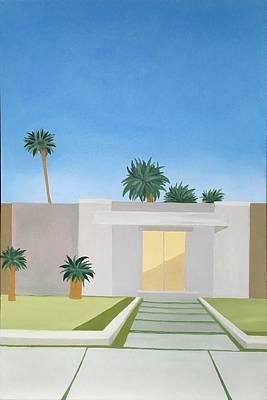 Palm Springs Home Original by Diana Dzene