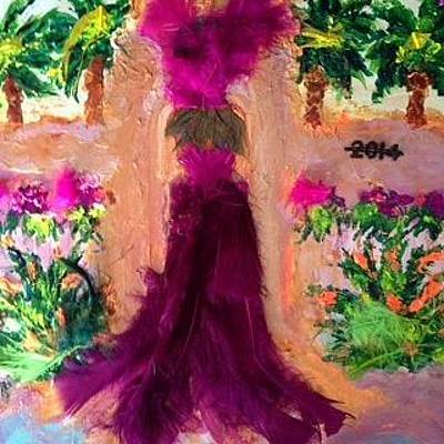 Painting - Palm Springs Last Follies by Annette McElhiney