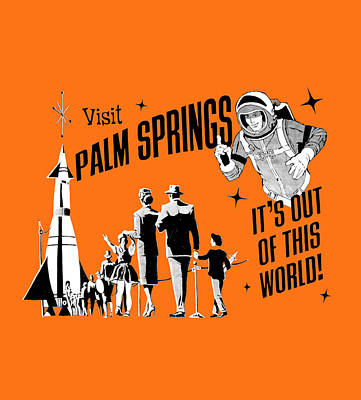 Palm Springs Orange Original by Neo