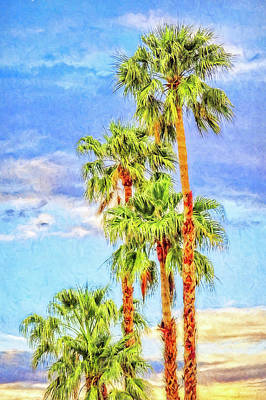 Photograph - Palm Springs Palms by Sandra Selle Rodriguez