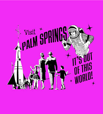 Palm Springs Purple Original by Neo