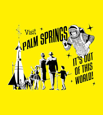 Palm Springs Yellow Original by Neo
