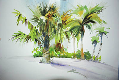 Painting - Palm Sunday by P Anthony Visco