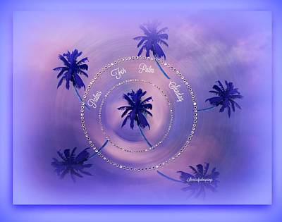 Digital Art - Palm Sunday by Sherri's Of Palm Springs