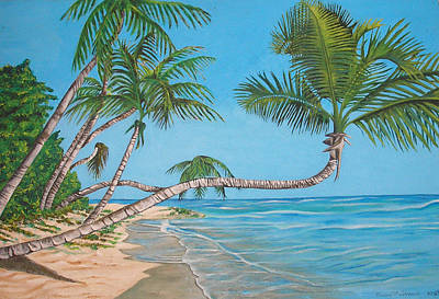 Painting - Palm Tree by Edward Maldonado