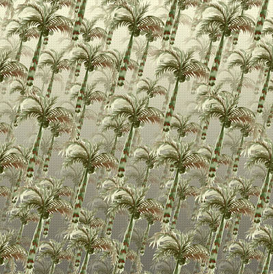 Palm Tree Grove Art Print
