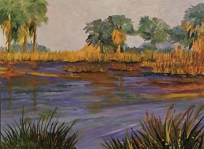 Palm Tree Hideaway  Art Print