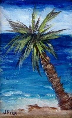 Painting - Palm Tree by Jamie Frier